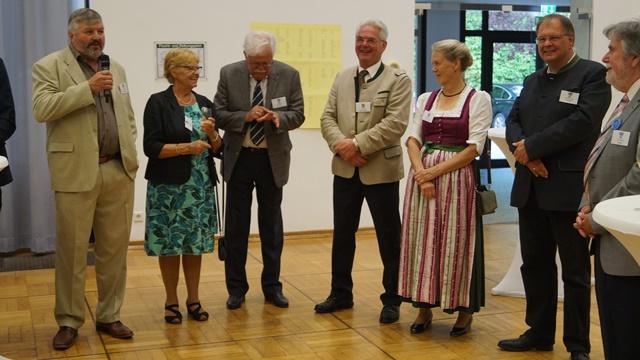 Begrüssung der Gäste beim Galadinner - Thomas Portenlänger