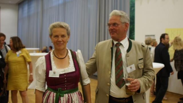 Galadinner - Bischofshofens Altbürgermeister Jakom Rohrmoser mit Gattin